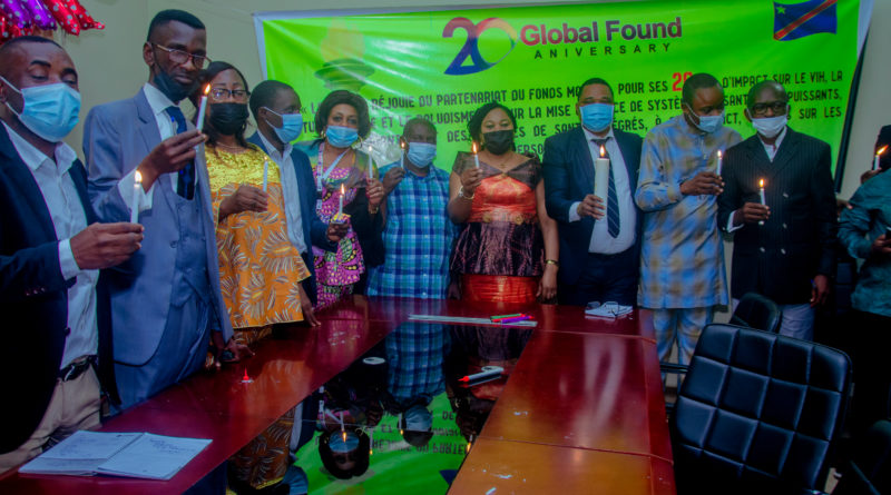 Fonds mondial : Cérémonie de passation de la Torche pour ses Vingt ans d'existence.